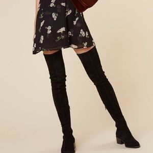 5581947b93d Other Stories Shoes -   Other Stories Suede Over the Knee Boots